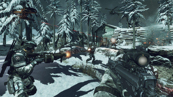 """""""Call of Duty: Ghosts"""" is one of the video game titles published by Activision Blizzard."""