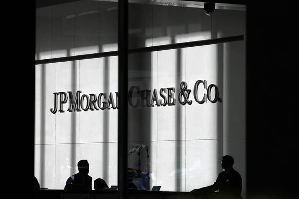 JPMorgan, which has set aside at least $23 billion to handle mounting litigation costs, booked $9.2 billion in legal expenses in the third quarter. Above, company headquarters in New York.
