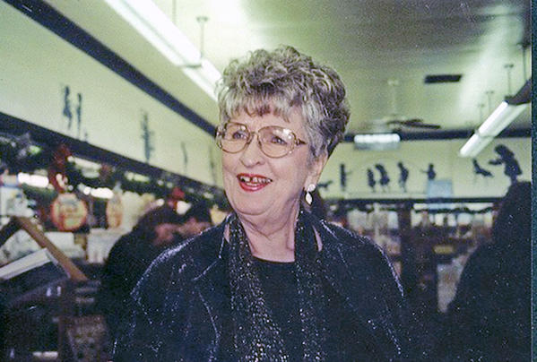 Jane Humphrey in an undated photo of her at Once Upon A Time bookstore.