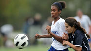 No. 8 Centennial girls soccer sticks with plan, beats No. 10 Marriotts Ridge, 4-0
