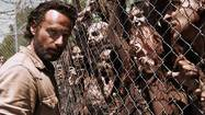 Review: 'Walking Dead' starts Season 4 on quieter note, for now