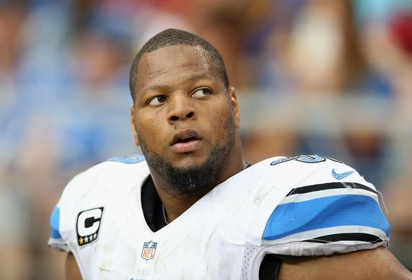 Lions defensive tackle Ndamukong Suh.