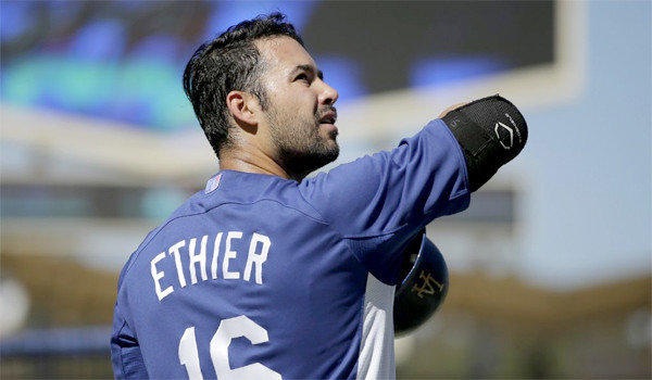 Andre Ethier started his first game for the Dodgers since Sept. 15 in Game 1 of the NLCS. He will not start on Saturday in Game 2, though.