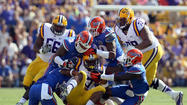 <b>Pictures:</b> LSU Tigers 17, Florida Gators 6
