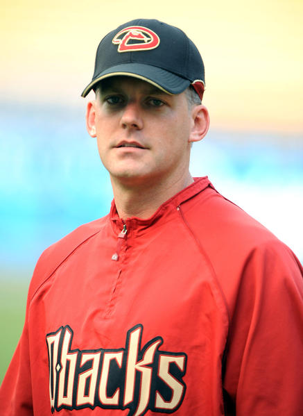 Diamondbacks manager A.J. Hinch before a 2009 game.