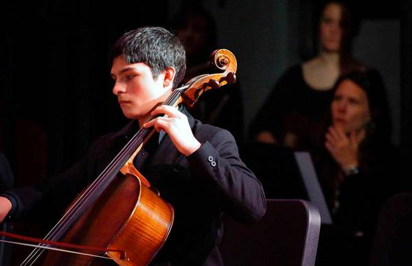 Allentown-born Andres Sanchez performs with the Curtis Symphony Orchestra Oct. 19 at Miller Symphony Hall.