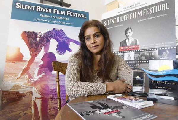 Kalpna Singh-Chitnis is the head of the Silent River Film Festival.