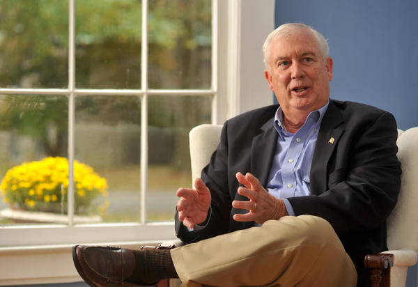 Harford County Executive David Craig at his home discussing his views as a Republican candidate for governor.