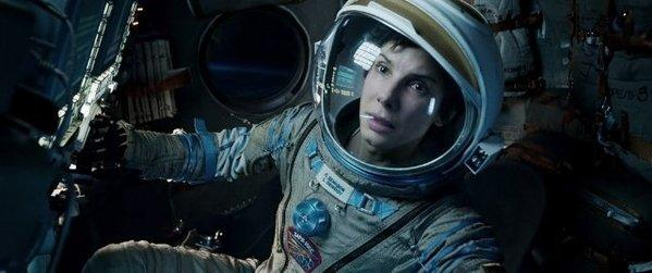 """""""Gravity,"""" starring Sandra Bullock, was the No. 1 film at the box office for the second weekend in a row."""