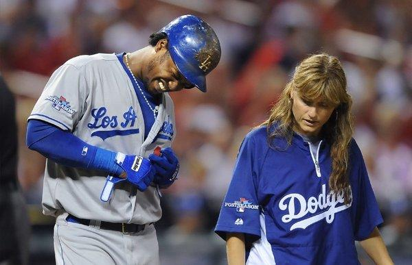 It's hard to imagine Hanley Ramirez playing Monday with bruised, possibly fractured ribs.