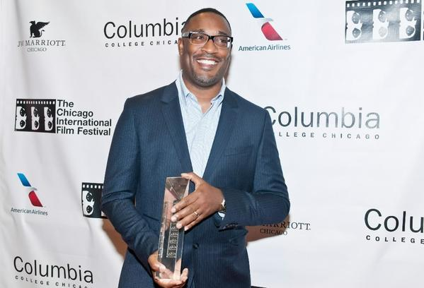 """Director George Tillman, Jr. attends """"The Inevitable Defeat Of Mister And Pete"""" premiere at the Black Perspectives presentation during the 2013 Chicago International Film Festival at AMC River East Theater Oct. 11, 2013."""