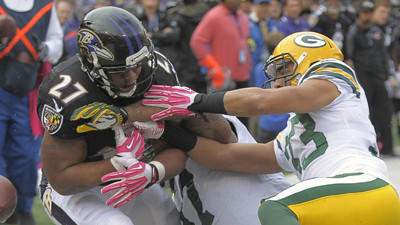 After struggling vs. Packers, Ravens' matchup with Steelers loo…