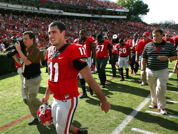 Bulldogs quarterback Aaron Murray owns or will have claimed most of the SEC's quarterback records by the time the season ends.