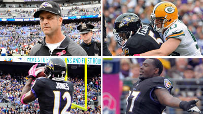Mike Preston grades the Ravens' 19-17 loss at home to the Green…