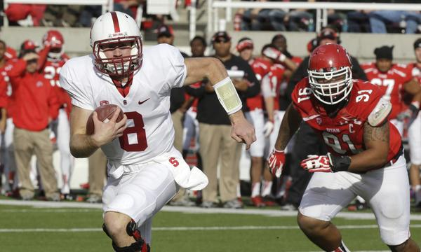 Stanford quarterback Kevin Hogan and the rest of the Cardinal will look to put Saturday's loss behind them as they prepare for this week's game against UCLA.