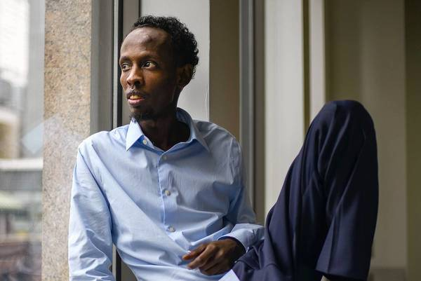 "Barkhad Abdi of ""Captain Phillips."""