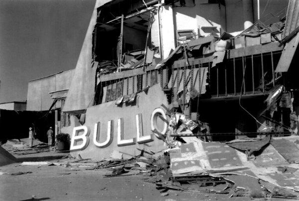 The dangers of brittle concrete buildings were underscored by the collapse of the Bullock's department store at Northridge Fashion Center in the 1994 Northridge earthquake. The store was built in 1971, before more robust building codes were enacted. Hundreds of people could have died, but the earthquake hit at 4:31 a.m., when the store was closed.