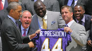 Ravens visit the White House [Pictures]