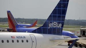 "JetBlue offers speedy trip for ""Bills"" at BWI"