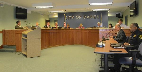The Darien City Council discussed a recent audit of finances at a meeting this month.