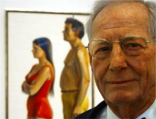 California artist Wayne Thiebaud in 2003.