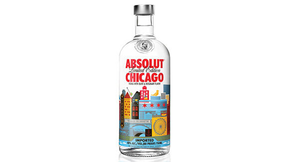 Absolut's newest flavor pays homage to Chicago.