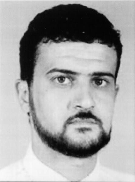 UNDATED: Anas Al-Liby, a suspected terrorist, is shown in this photo released by the FBI October 2001.