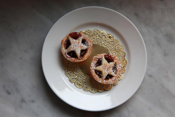 Mince pies at Pleasant House Bakery