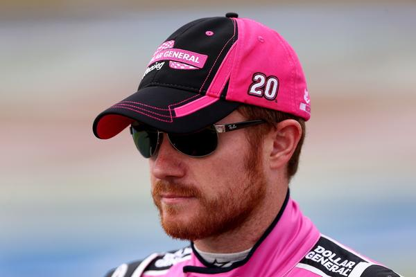 NASCAR driver Brian Vickers will miss the rest of the season due to a small blood clot in his right calf.