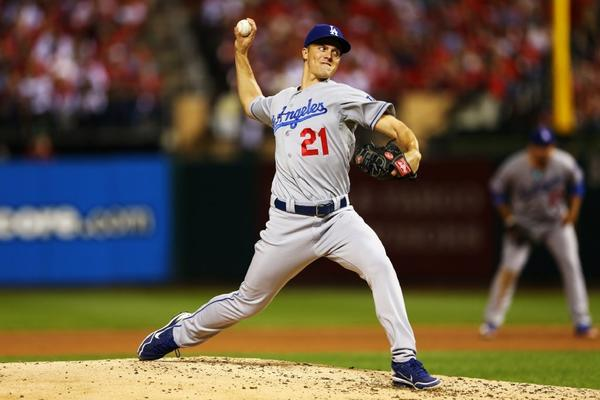 Depending on the results of Game 3, Zack Greinke could pitch Game 4 for the Dodgers.