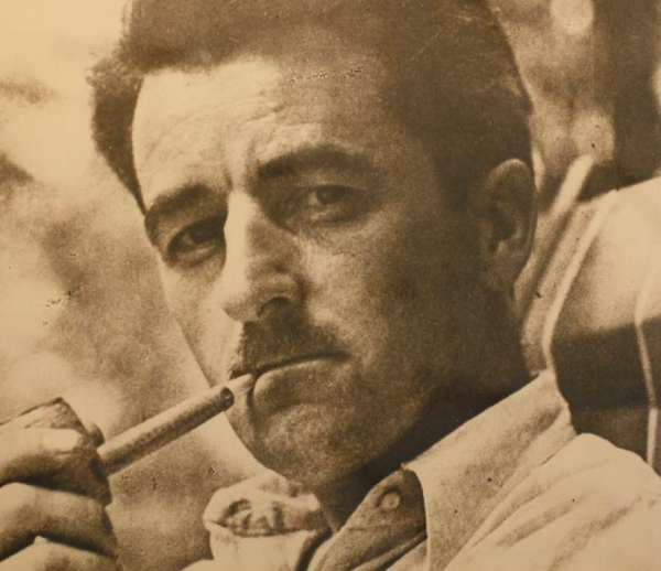 "William Faulkner, the author of ""Light in August"" and ""Absalom, Absalom!"", is shown. How did Mississippi manage to deserve him?"