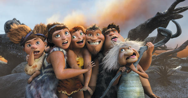 """DreamWorks Animation's """"The Croods."""""""