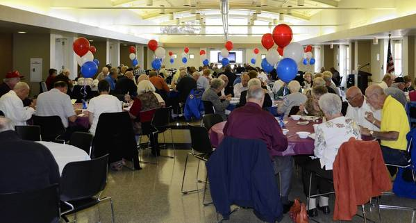 Orland Park veterans are invited to attend the Orland Park Veterans Commission annual steak fry on Nov. 3 at the Orland Park Civic Center. Tickets may only be purchased in advance at the cashier's window at Village Hall and will not be available at the door. For more information, call 708/403-6203.