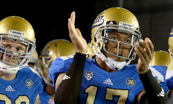 UCLA quarterback Brett Hundley knows a strong performance against Stanford could put his name among the Heisman Trophy contenders.