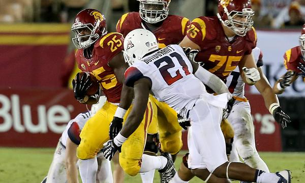 USC running back Silas Redd provides the Trojans with a level of experience and toughness that has proved to be a valuable asset for the offense.