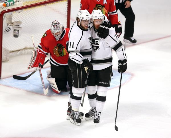 Anze Kopitar, Jeff Carter