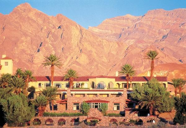 The Furnace Creek Inn at Death Valley National Park has opened for the season, though surrounding parklands remain closed.