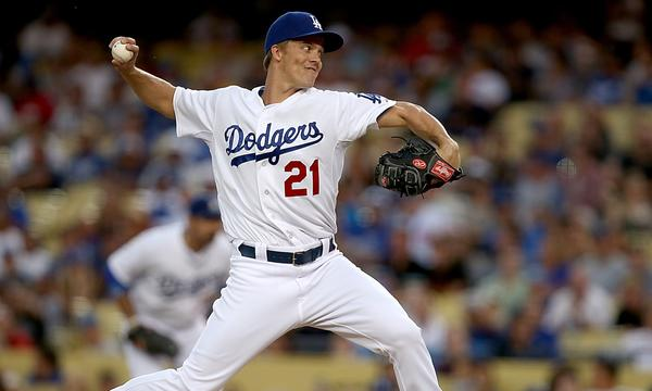 Zack Greinke could be back on the mound for the Dodgers in Game 4 of the National League Championship Series on Tuesday.