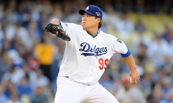 Dodgers starter Hyun-Jin Ryu allowed three hits and struck out four over seven innings in a 3-0 win over the St. Louis Cardinals in Game 3 of the National League Championship Series.