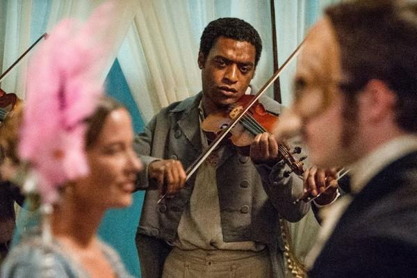 "Chiwetel Ejiofor stars in ""12 Years a Slave."" The acclaimed historical drama kicks off the Envelope Screening Series Tuesday night."