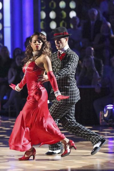 The season's first 10 could not save Christina Milian and Mark Ballas from elimination.