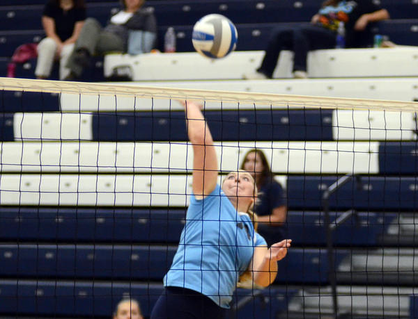 Petoskey senior Jayme Larson had 14 digs and nine kills Monday as the Northmen dropped a Big North Conference match at Alpena, falling 25-21, 25-13, 16-25, 25-21.