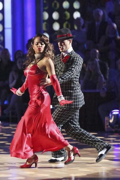 Christina Milian and Mark Ballas