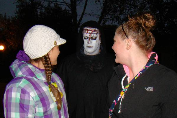 All Hallows Eve: Village of Fear draws more than 3,200 chill-seekers each year and requires about 150 volunteers to create the creepiness at Naper Settlement.