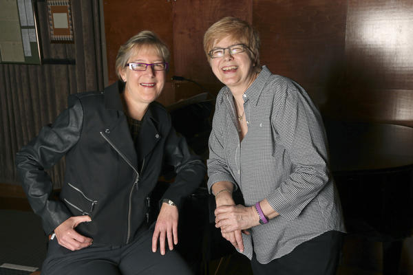 Davenport's owners left, Donna Kirchman, and right, Sue Berry inside their club, at 1383 N. Milwaukee Ave., in Chicago.