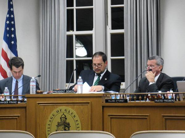 Glen Ellyn trustees unanimously approved a new redevelopment district along Roosevelt Road on Monday night.
