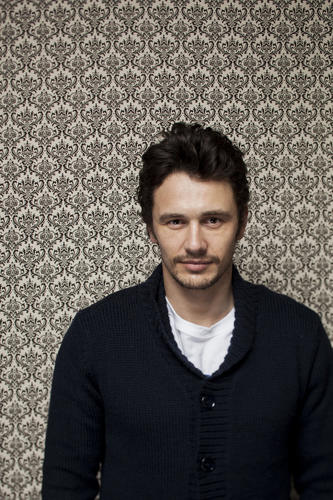 "James Franco, producer on the films, ""Kink"" and ""Interior. Leather Bar,"" is photographed in the L.A. Times Photo & Video studio, on the fourth day of the 2013 Sundance Film Festival."