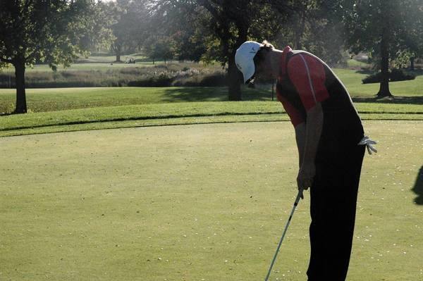 Naperville Central senior Eddie Lieser qualified as in individual for the state championship tournament this weekend.