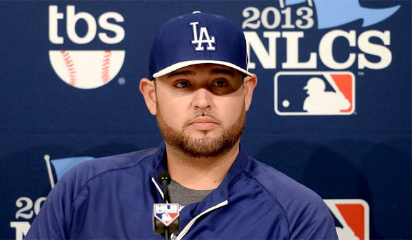 Dodgers right-hander Ricky Nolasco will start for L.A. in Game 4 of the National League Championship Series at Dodger Stadium on Tuesday.