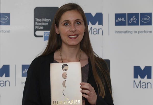 "Eleanor Catton, winner of the 2013 Man Booker Prize for her novel ""The Luminaries."""